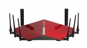 D-Link DIR-895L AC5300 6 stream wireless router press picture courtesy of D-Link America