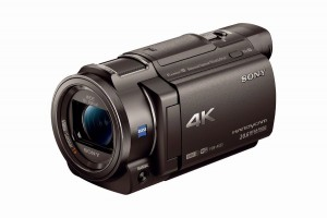 Sony FRD-AX33 4K HandyCam camcorder press picture courtesy of Sony America