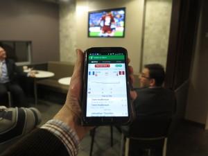 Sports scoreboard app