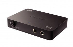Creative Labs Sound Blaster Digital Music Premium USB sound module press image courtesy of Creative Labs