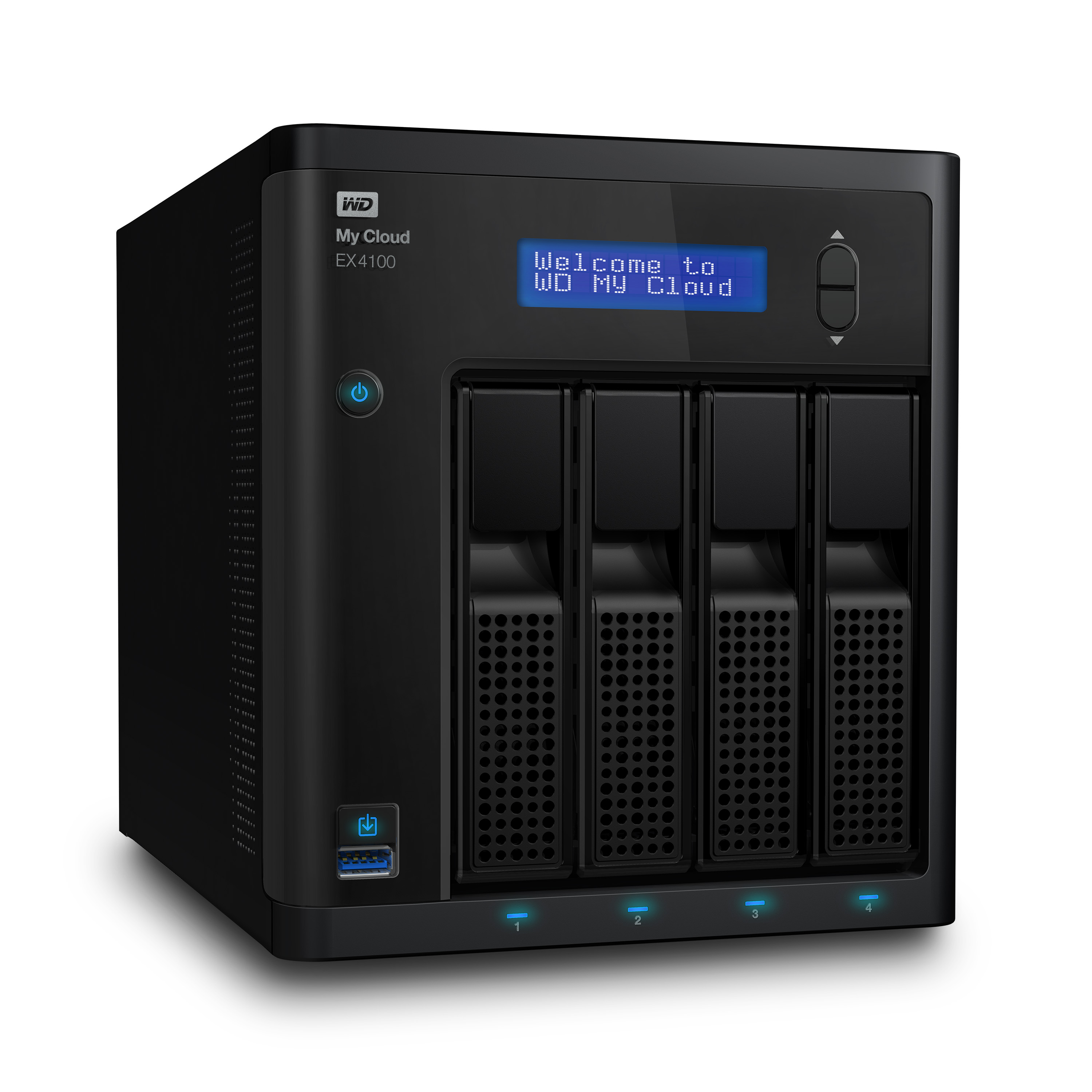 WD MyCloud EX4100 NAS press image courtesy of Western Digital