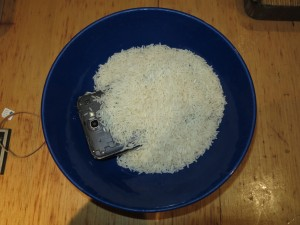 Smother the wet device with dry rice and leave for a few days