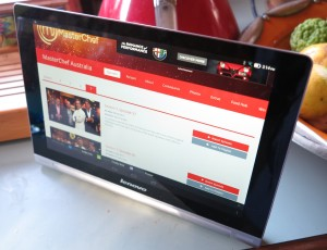 Lenovo Yoga Tab Android tablet