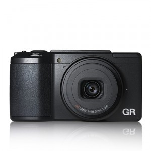 Ricoh GR II compact digital camera press picture courtesy of Ricoh Imaging