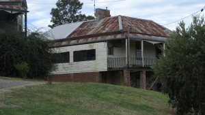 A house in an Australian country town - telecommunications needs to be factored in for rural areas if there is pressure for them to grow
