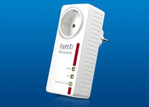 AVM Fritz!Powerline 1220 HomePlug AV2 adaptor press photo courtesy of AVM