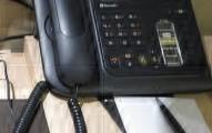 Hotel guestroom telephone