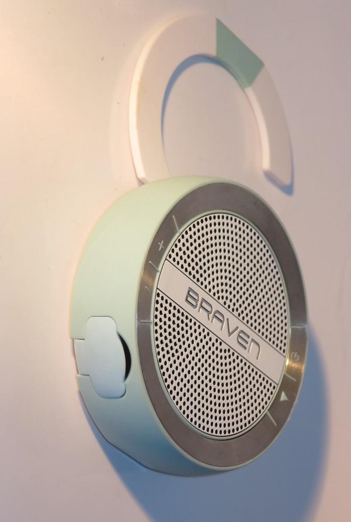 Braven Mira Bluetooth speaker with kickstand