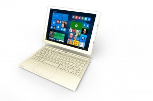 "Toshiba DynaPad - the lightest 12"" 2-in-1"