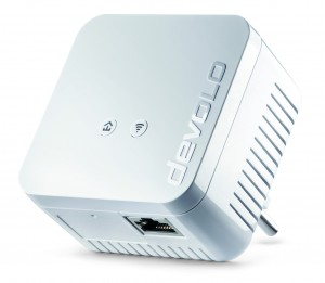 Devolo dLAN 550 WiFi HomePlug AV500 access point press picture courtesy of Devolo AG