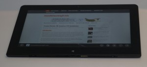 Lenovo ThinkPad Helix 2 as a tablet