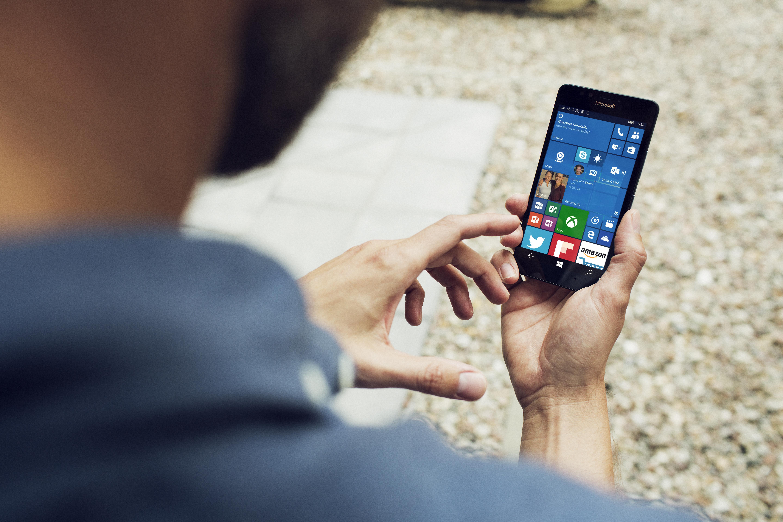 Nokia Lumia 950 press image courtesy of Microsoft