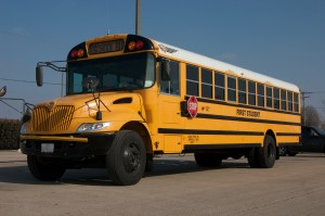 Yellow school bus - Wikimedia Commons image courtesy of H, Michael Miley
