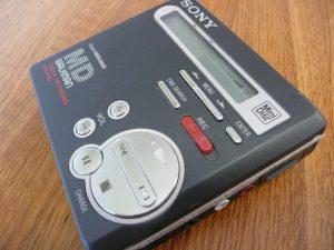 Sony MZ-R70 MiniDisc Walkman image courtesy of Pelle Sten (Flickr http://flickr.com/people/82976024@N00)