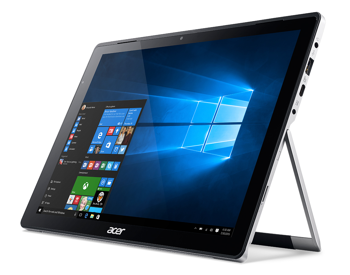 Acer Switch Alpha 12 tablet press image courtesy of Acer