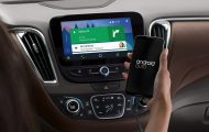 Android Auto in Chevrolet Malibu dashboard courtesy of © General Motors (Chevrolet)