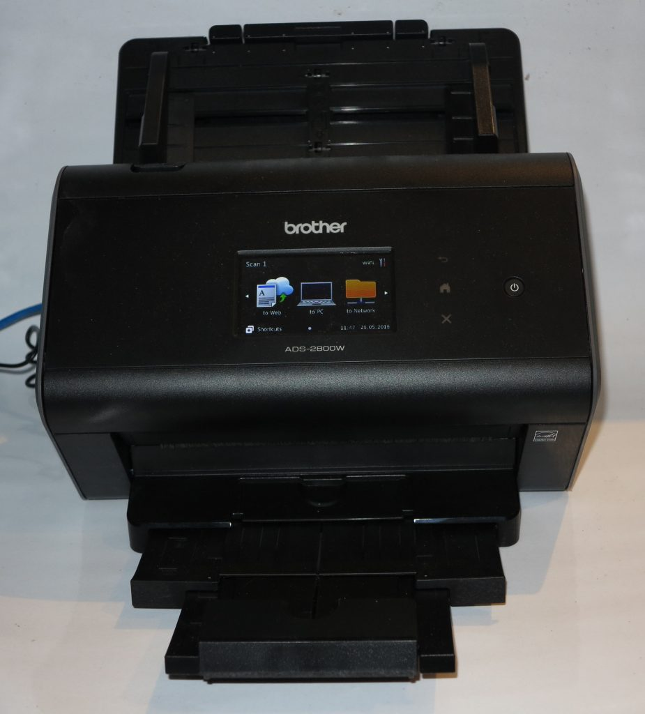 Brother ADS-2800W network document scanner