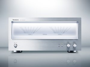 Technics SE-R1 stereo power amplifier press picture courtesy of Panasonic USA