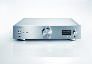 Technics SU-R1 network media player / control amplifier press image courtesy of Panasonic USA