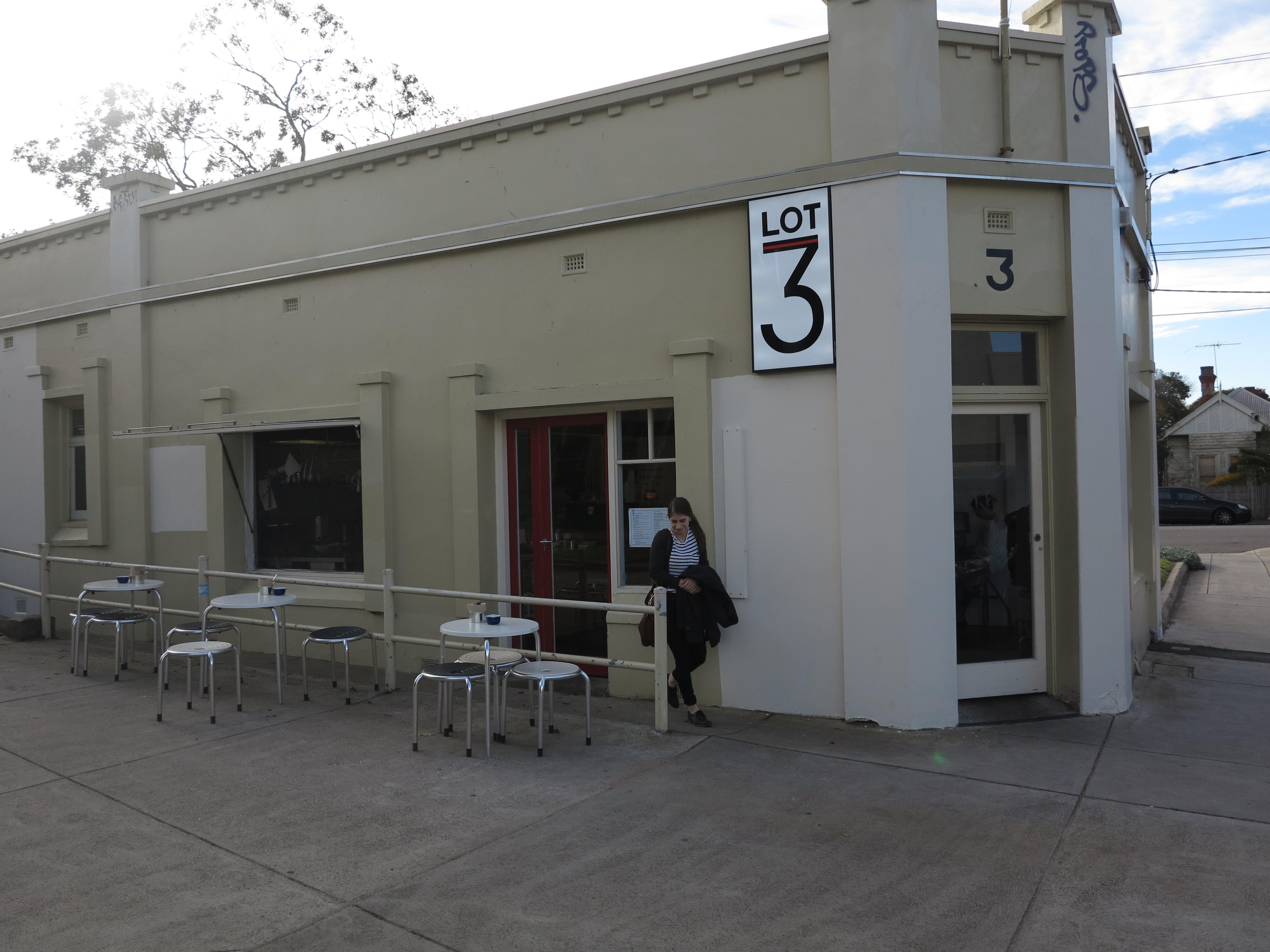 Lot 3 Ripponlea café