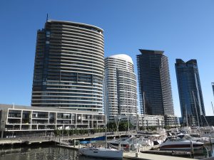 Yarra's Edge apartment blocks
