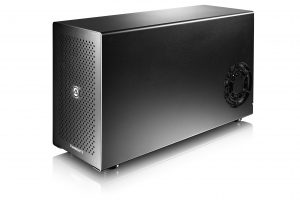 "Akitio Node Thunderbolt 3 ""card cage"" external graphics module - press image courtesy of Akitio"