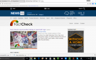 Fact-checking now part of the online media-aggregation function
