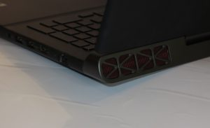 Dell Inspiron 15 Gaming laptop rear vents