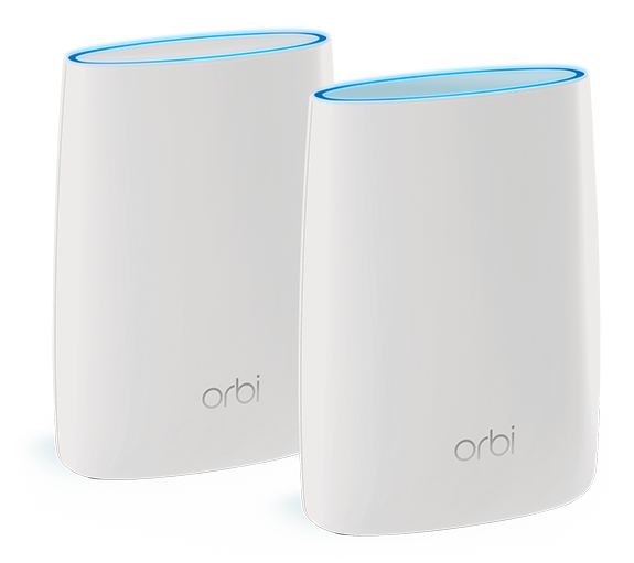 NETGEAR Orbi distributed WiFi system press image courtesy of NETGEAR