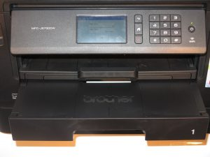 Brother MFC-J5730DW multifunction inkjet printer output tray