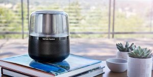 Harman Allure smart speaker press image courtesy of Harman
