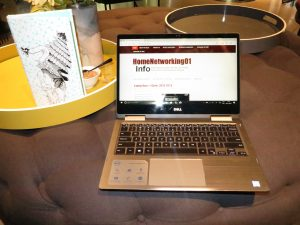 Dell Inspiron 13 7000 2-in-1 Intel 8th Generation CPU at QT Melbourne hotel
