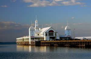 Cunningham Pier, Geelong, Australia by Bernard Spragg. NZ from Christchurch, New Zealand (Cunningham Pier. Geelong Vic.) [CC0], via Wikimedia Commons