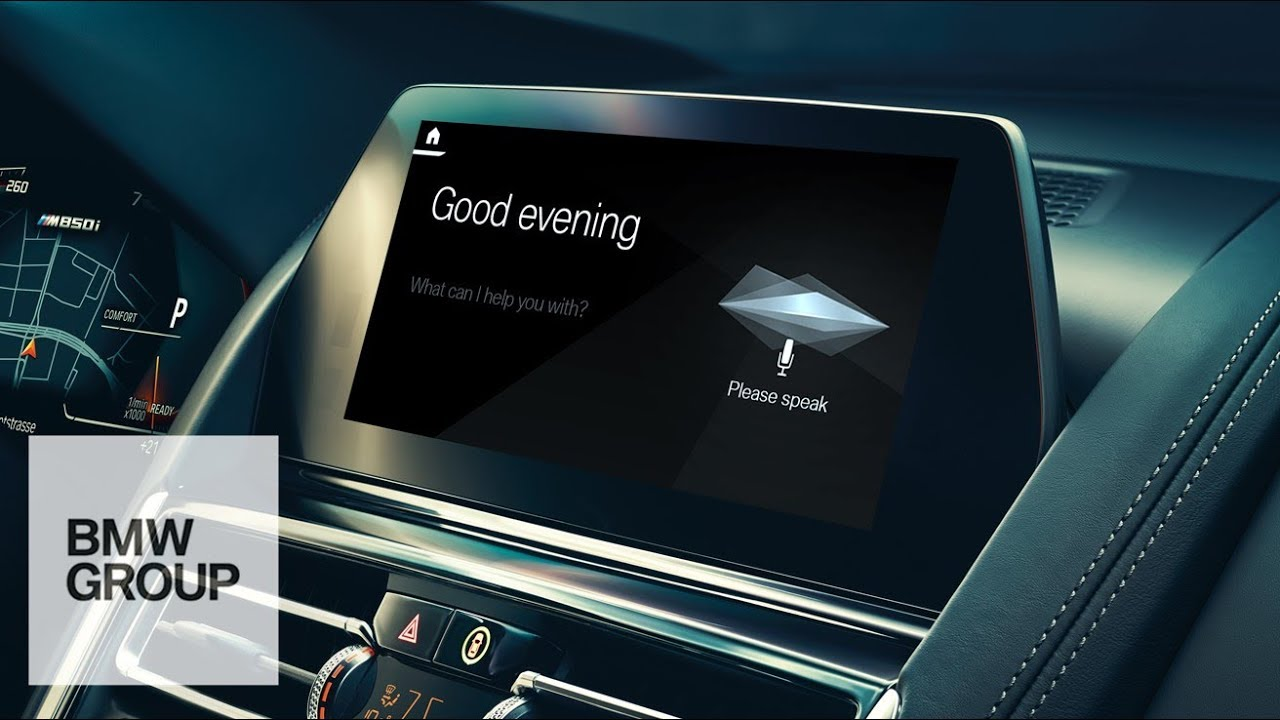 BMW to use the car as a base for a European voice-driven assistant platform