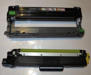Brother DR-253CL drum and TN-253Y toner cartridge