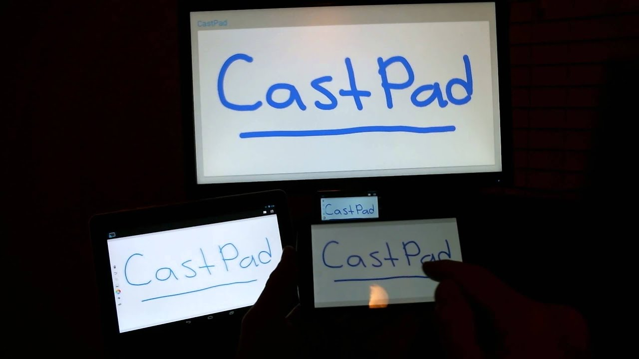 An Android app turns your Chromecast-equipped TV in to a whiteboard