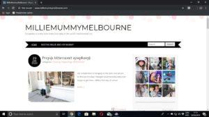 MillieMummyMelbourne mum blog