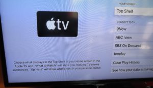 tvOS 13.3 Top Shelf options description