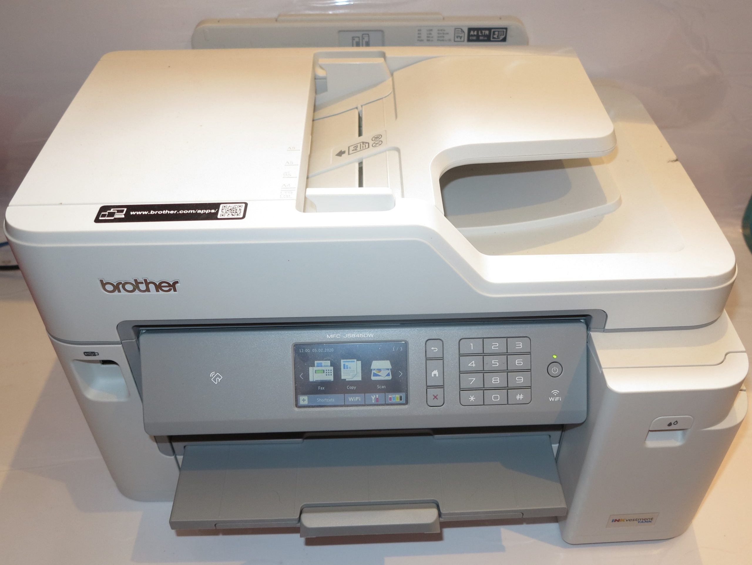 Brother MFC-J5845DW INKVestment multifunction inkjet printer