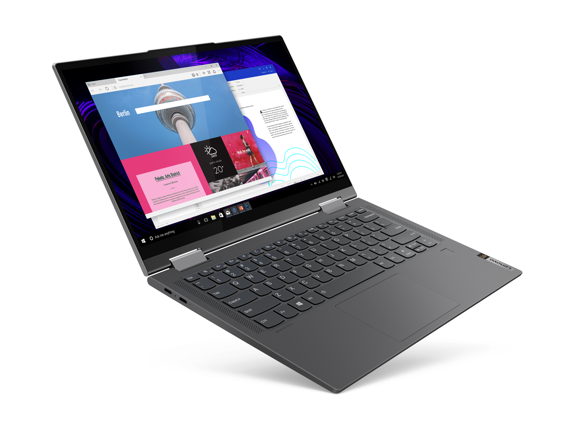 Lenovo Yoga 5G convertible notebook press image courtesy of Lenovo
