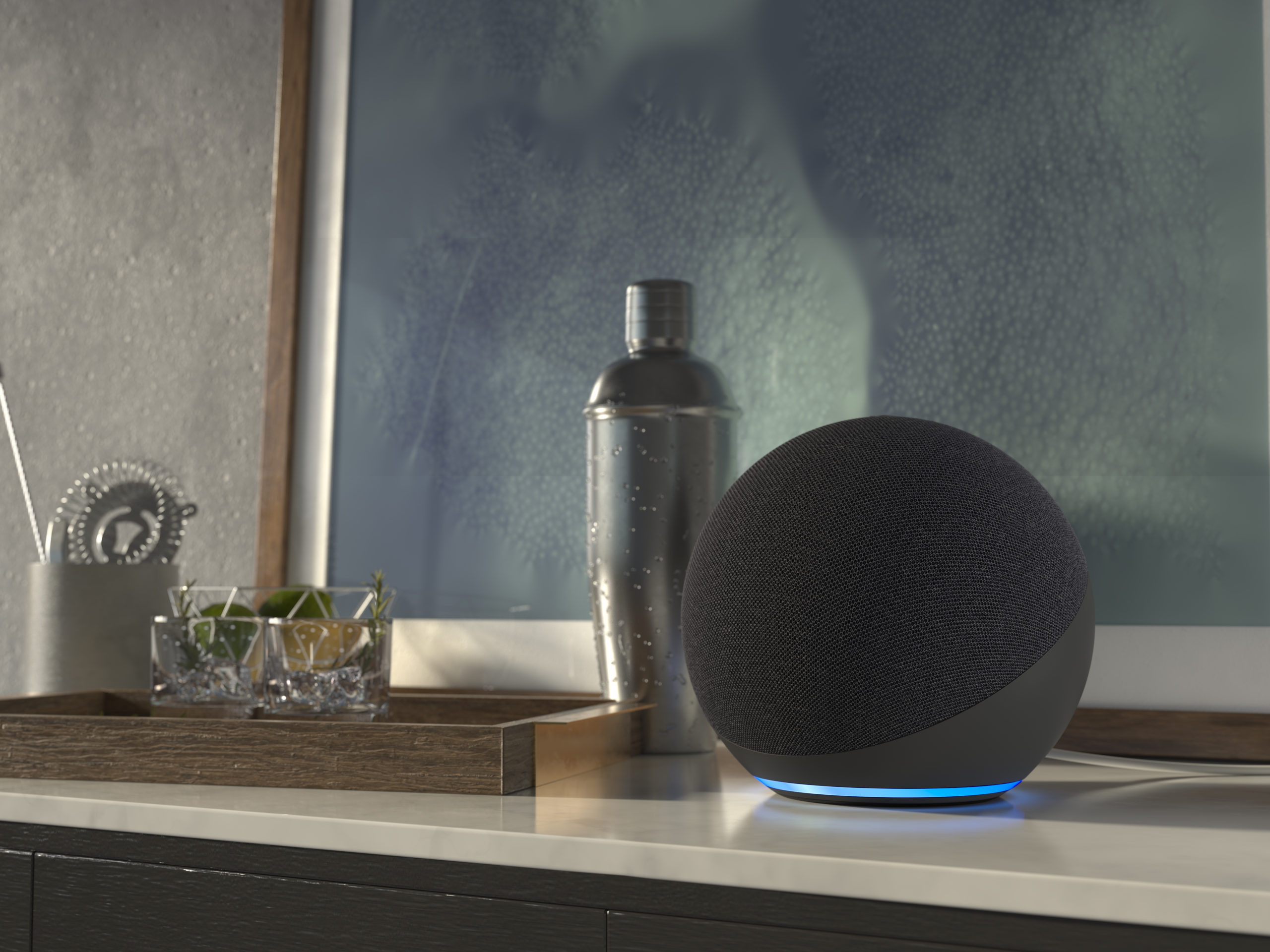 Amazon Echo press image courtesy of Amazon