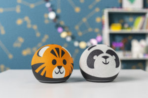 Amazon Echo Dot Kids Edition (Tiger and Panda) press image courtesy of Amazon