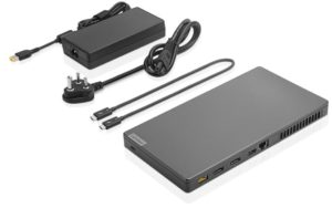 Lenovo Thunderbolt 3 Graphics Dock product photo (UK package) courtesy of Lenovo