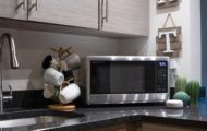 Sharp Smart Countertop Microwave Oven press picture courtesy of Sharp USA