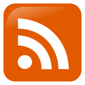 RSS Webfeed icon