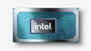 Intel Tiger Lake H Series CPU press image courtesy of Intel Corporation